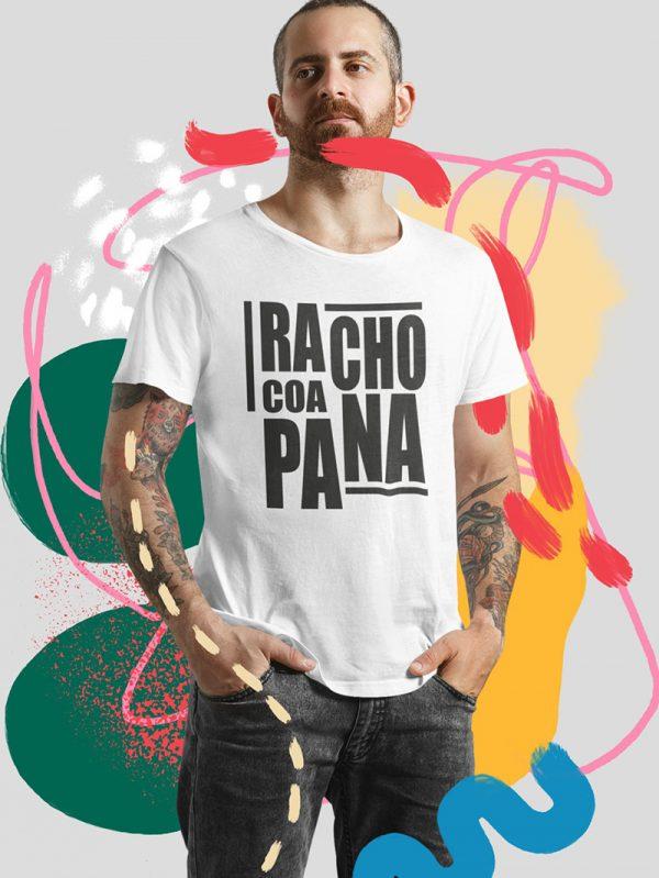 Camiseta chico racho coa pana ocarallovintenove