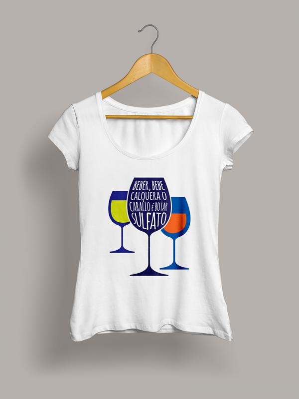 beber-camiseta-chica