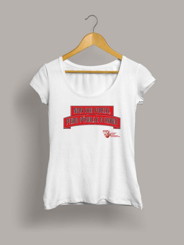 non-hai-forza-pisalle-rabo-asem-camiseta-chica