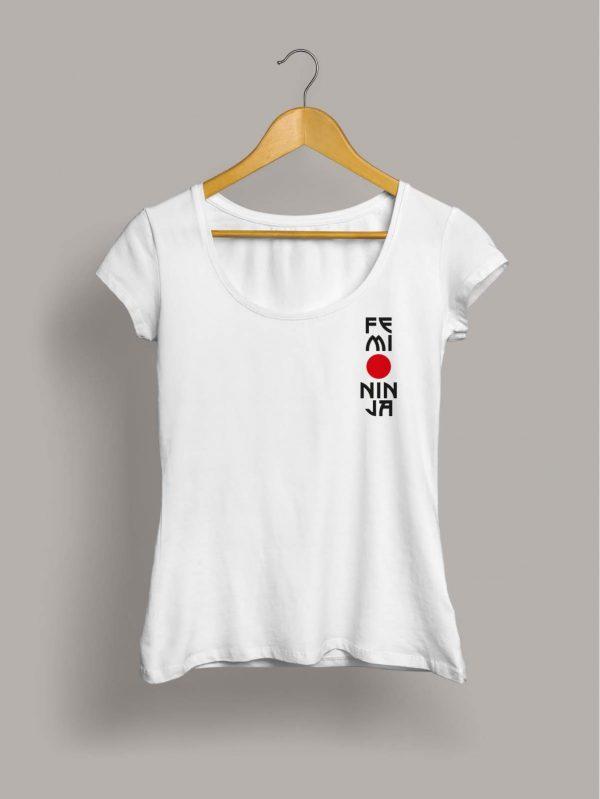 Camiseta chica femininja