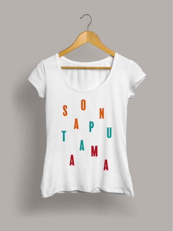 Camiseta chica son a puta ama