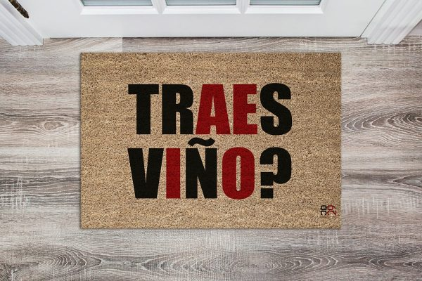 Felpudo traes viño ocarallovintenove