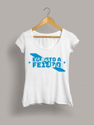 Camiseta chica eu boto a Feijóo