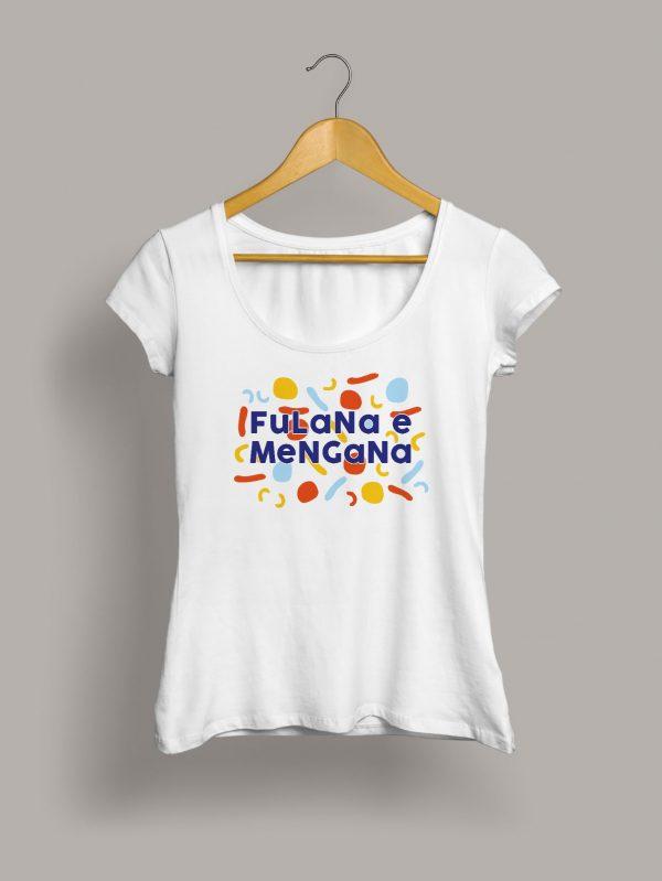 Camiseta chica fulana e mengana