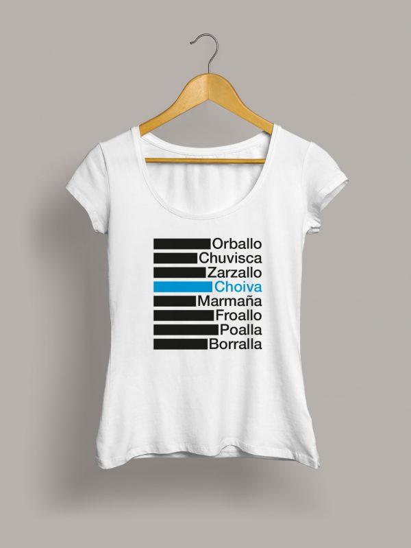 Camiseta chica choiva