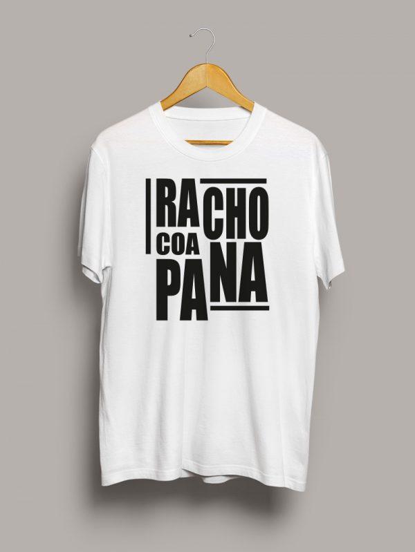 Camiseta chico racho coa pana