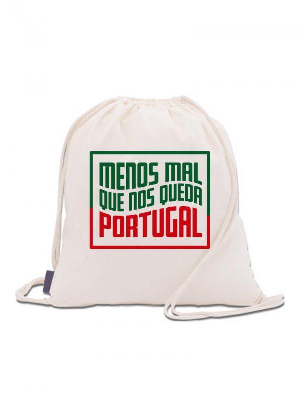 Mochila menos mal que nos queda Portugal