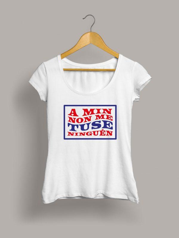 Camiseta chica A min non me tuse ninguén