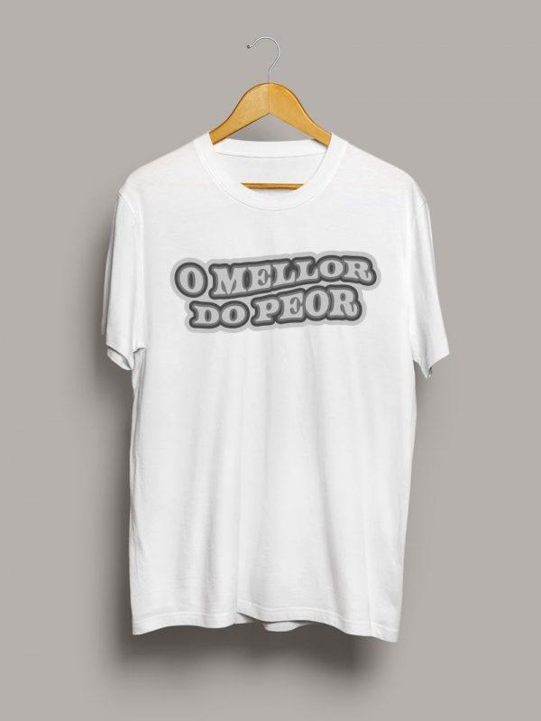 Camiseta chico o mellor do peor